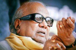 politics karunanidhis death ends an era of conservative politics