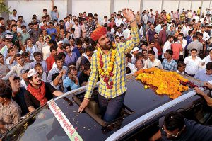 hanuman beniwal declares to fight under banner of rashtriya loktantrik party