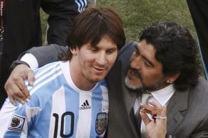 Lionel Messi is not a leader says Diego Maradona