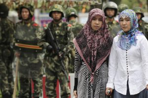 tension between China and the Uighurs