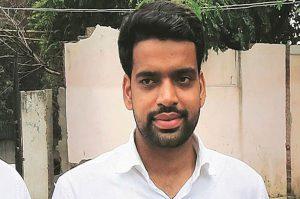 Ankiv Baisoya Delhi Students Union President
