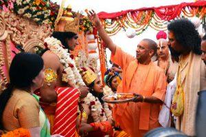 yogi adityanath turns faizabad to ayodhya