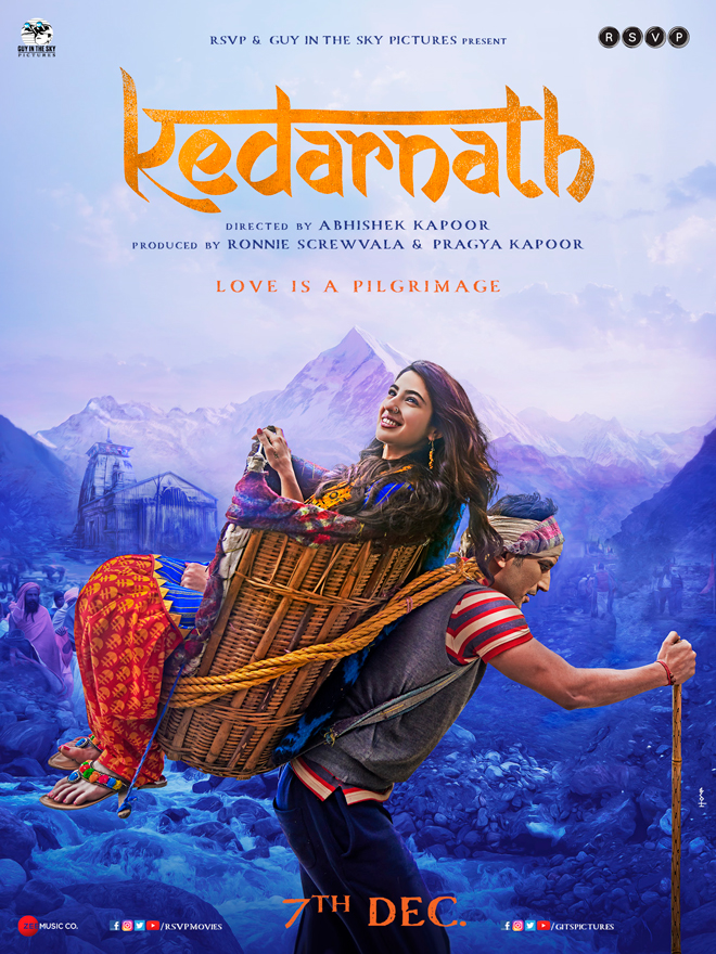 Kedarnath priests demand a ban on movie