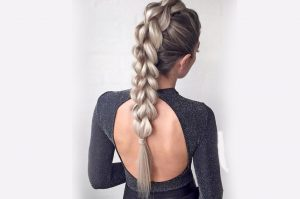 pony tail hair styles women girl