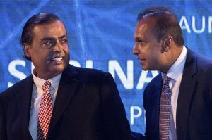 mukesh helped anil for clearing rcom dues