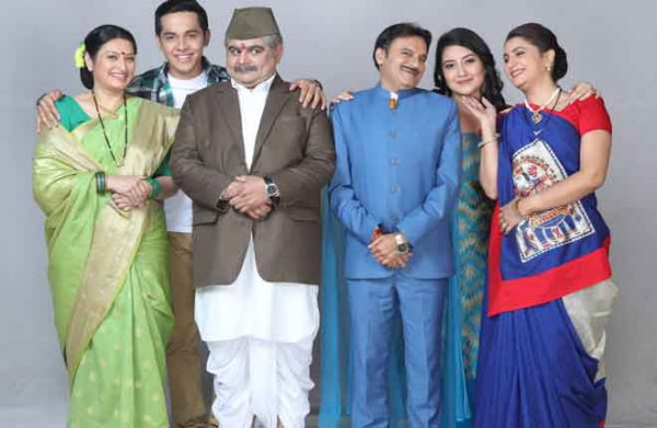 The-Gokhale-and-Thakkar-family-from-Sony-SAB's-Bhakharwadi